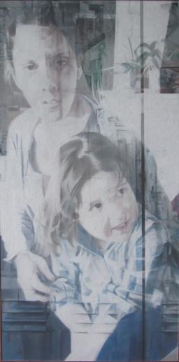 Sans titre, pastel sec verni, 60x120, 2013, Clara Cavignaux