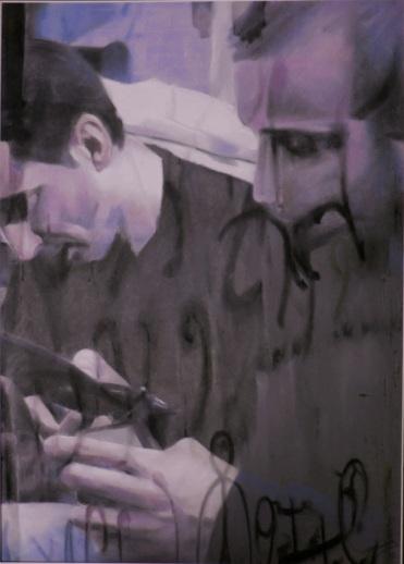 Pastel sec, 60*80 cm, 2009, Clara Cavignaux.