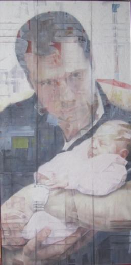 Sans titre, pastel sec verni, 60x120, 2014, Clara Cavignaux