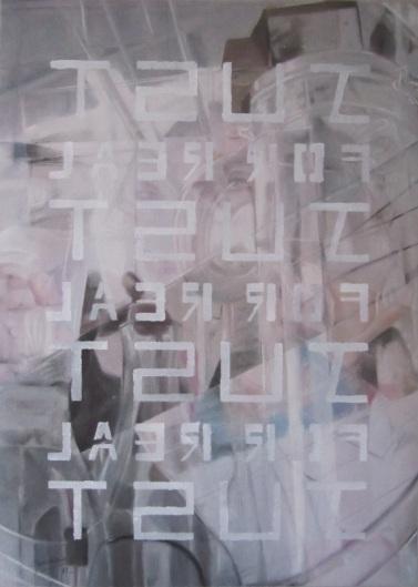 Pastel sec, acrylique, 60x80, 2011