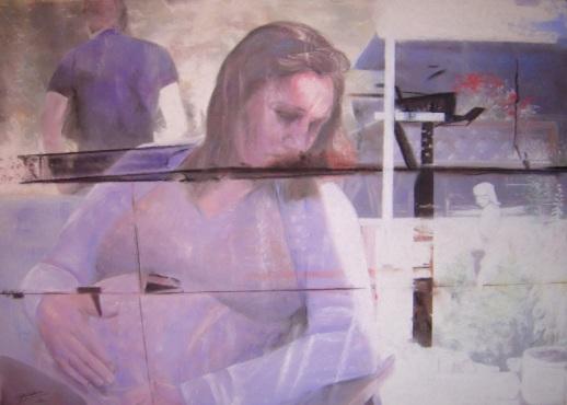 Pastel sec, 60*80 cm, 2010, Clara Cavignaux.