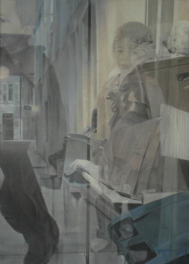 Sans titre, pastel sec verni, 86x120, 2014, Clara Cavignaux