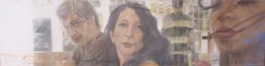 Sans titre, pastel sec verni, 80x20, 2013, Clara Cavignaux