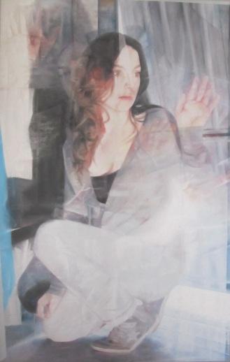 Sans titre, pastel sec, 60*80 cm, 2012.